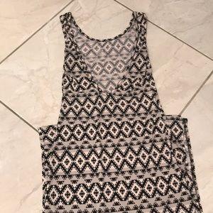 a'gaci Dresses - Tribal Print Maxi with Slit and V low back 💁🏻♀️